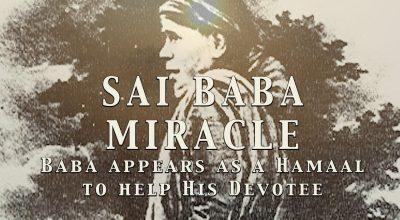 Shirdi saibaba miracle, and need sai baba help