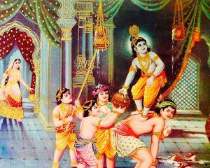 Baby-thief-Krishna-makhan-chor